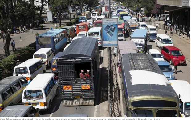 Ways of reducing traffic jam in Nairobi