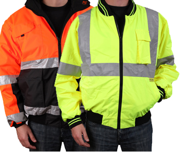 High-visibility safety gear guide