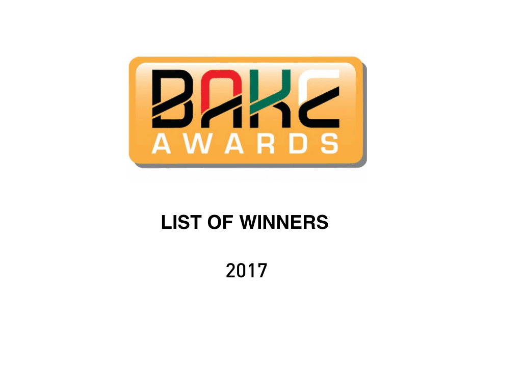 BAKE Awards 2017 Winners: Top Blogs in Kenya