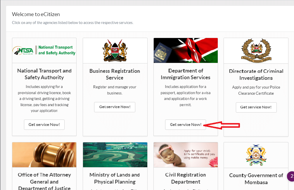 Application For Passport Kenyan