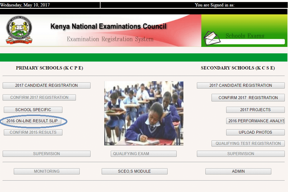KNEC Portal: How to View KCPE/KCSE Results Online • Urban ...