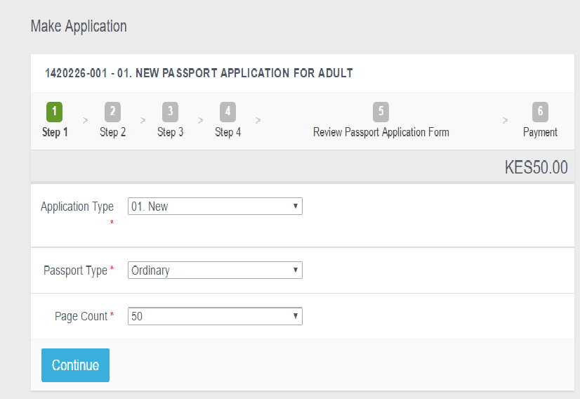 How to apply for a Kenyan passport • Urban Kenyans