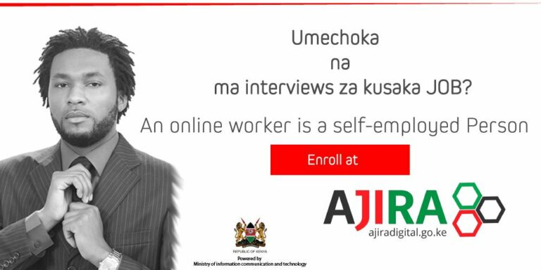 Ajira Digital Programme: Enroll for Training