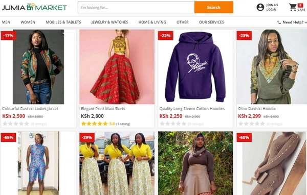 Best Online Shopping Sites In Kenya Urban Kenyans - What is an invoice for best online clothing stores