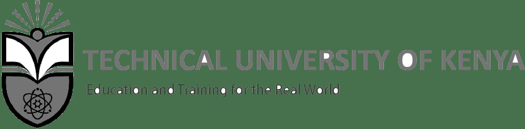 Technical University of Kenya September 2017 Intake
