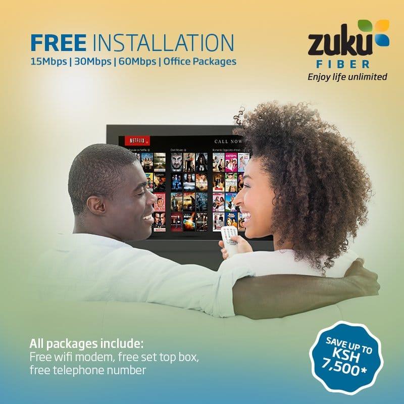 zuku payment
