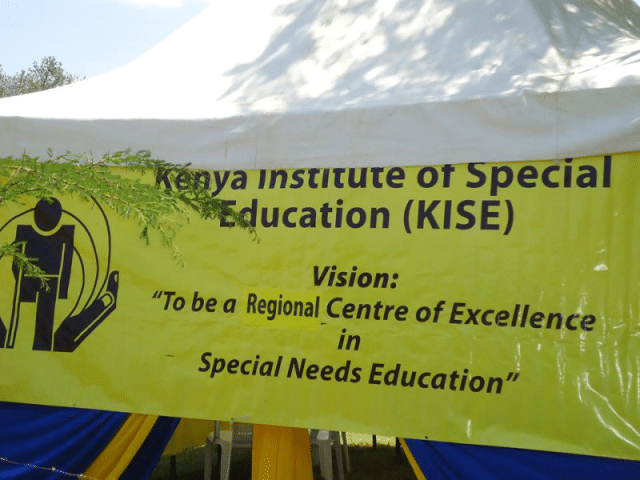 Kenya Institute of Special Education 2017 Intake