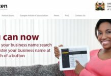 Business Name search and Registration in Kenya