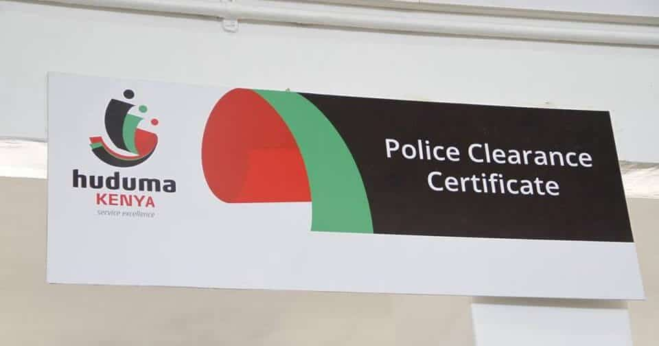 Certificate of Good Conduct Application Online