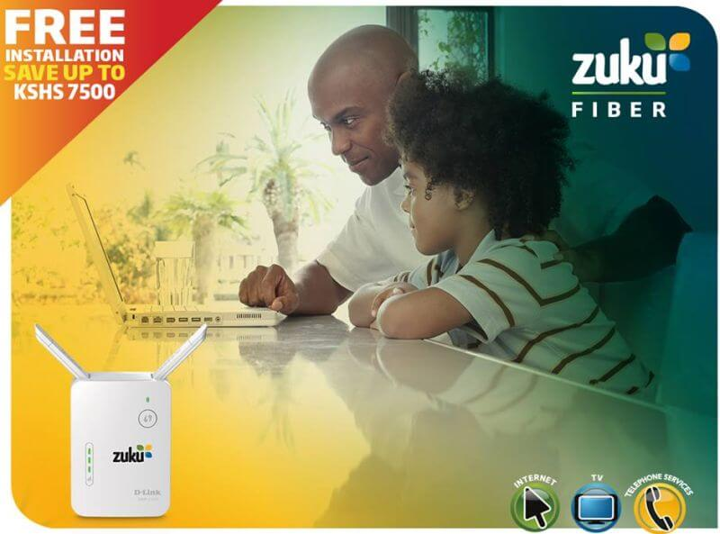 ZUKU Satellite TV and ZUKU Fiber Packages
