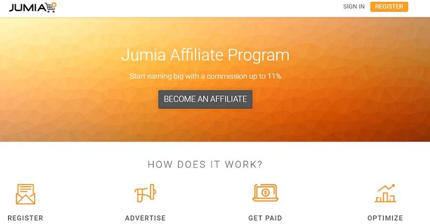 Jumia Kenya Sales Affiliate