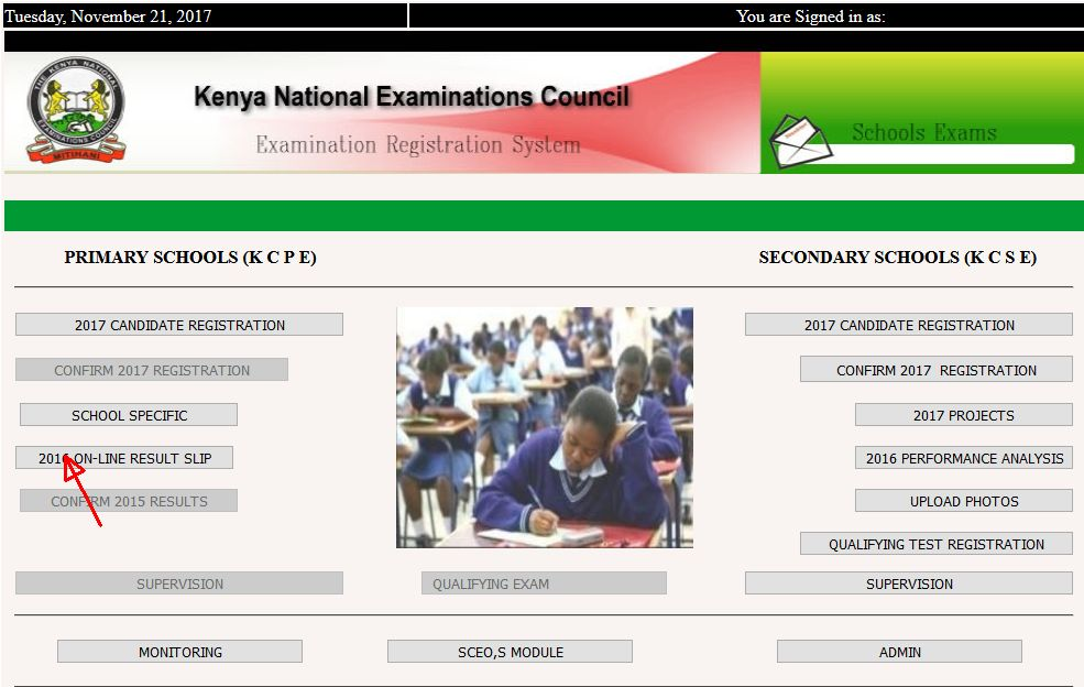 How to Check 2017 KCPE Results