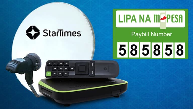 How to Pay for Startimes Tv Subscription Via M-Pesa