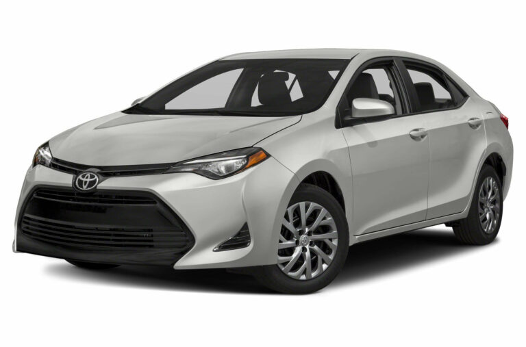 Toyota Corolla Average Pricing Based on Year