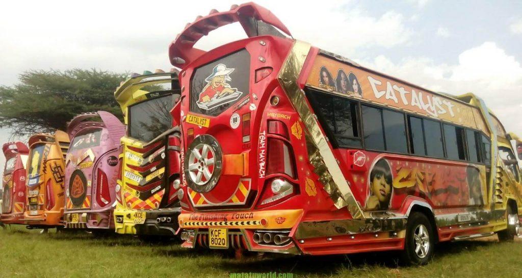 Image result for matatu culture in kenya