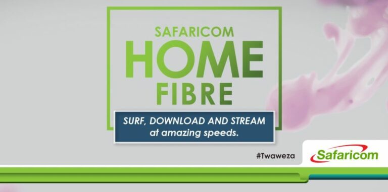 Safaricom Home Fibre Packages and Coverage