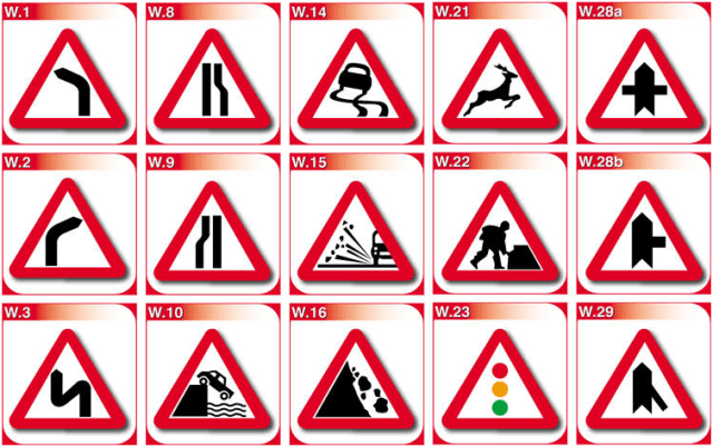 Road Signs in Kenya