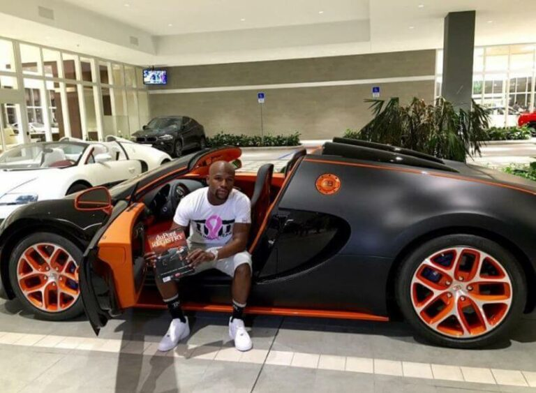 Floyd Mayweather's lavishing lifestyle and car collection