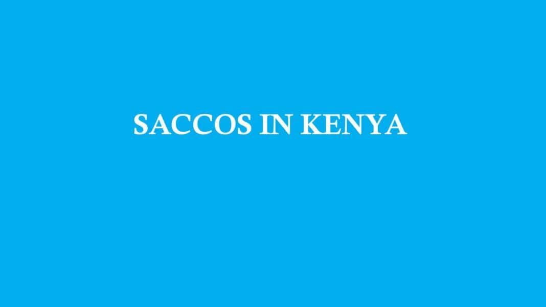 saccos in kenya