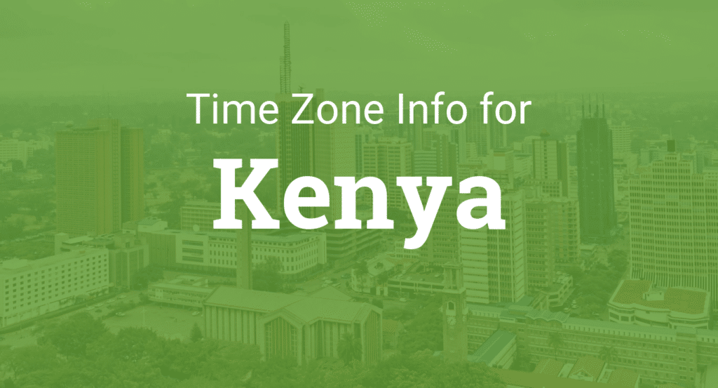 Kenyan time zone