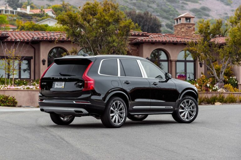 Volvo Xc90 Excellence: What Every Rich Man Should Have