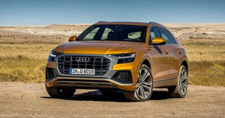 The 2019 Audi Q8: Because all you love is yourself