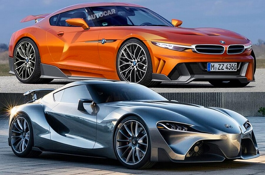 Toyota Supra and BMW Z4