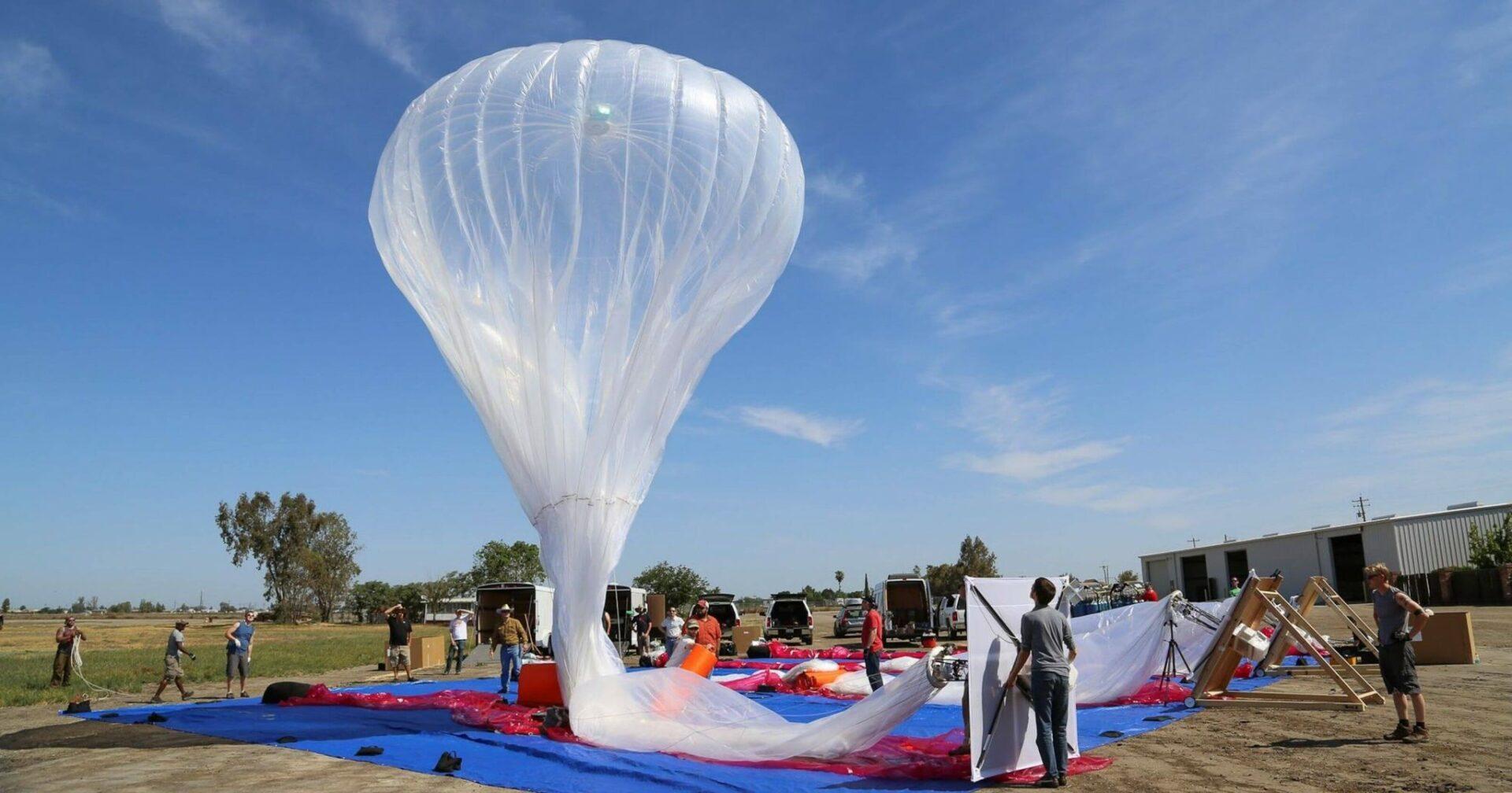 Google loon Balloons