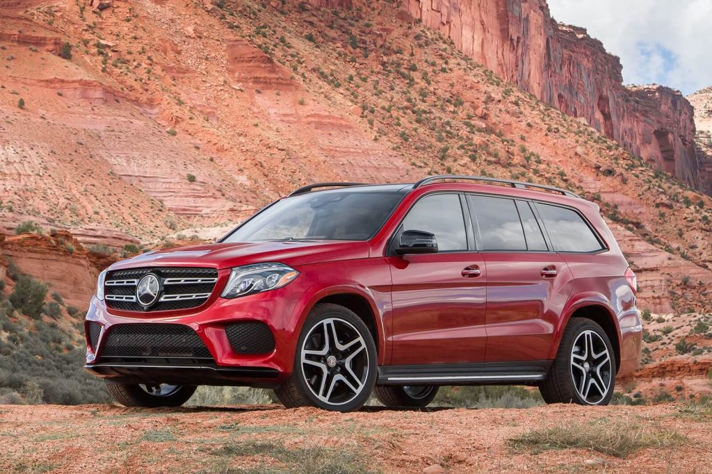2018 Mercedes Benz GLS