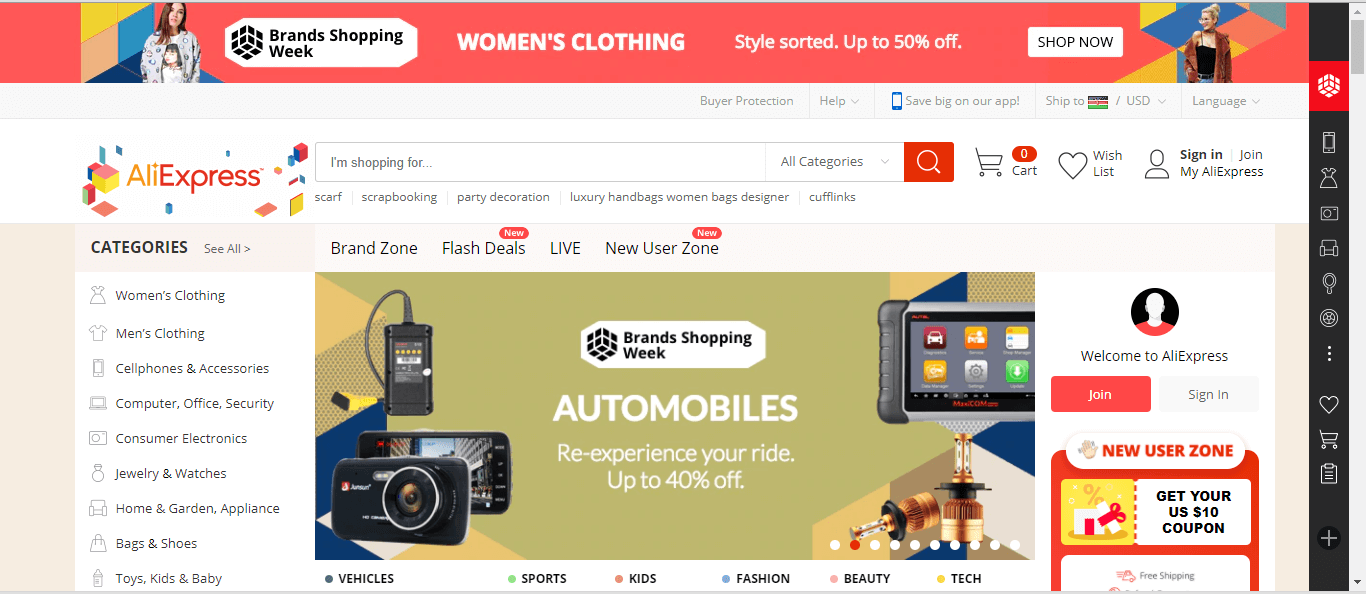 Aliexpress in Kenya