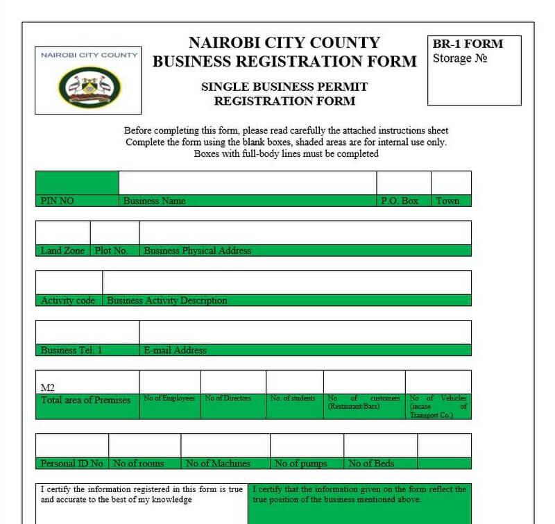 Single Business permit