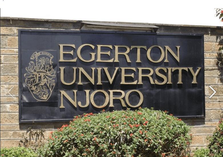 Egerton University Student Portal