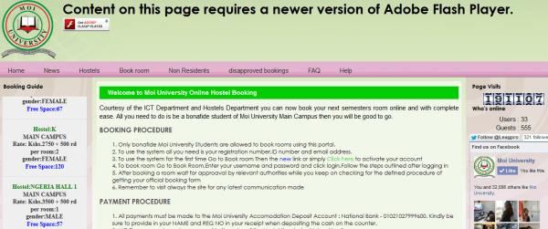 Musomi: How to register for the Moi university e-learning portal