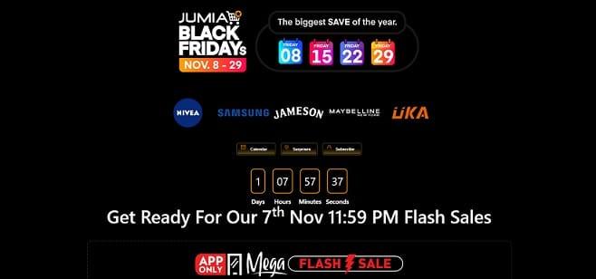 Jumia Black Friday Deals & Offers in Kenya 2019