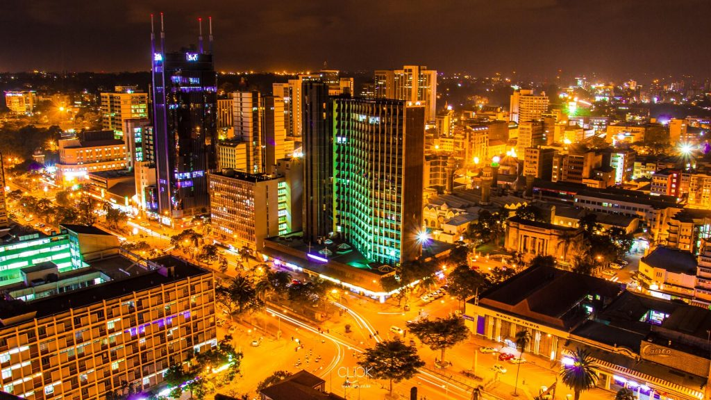 Nairobi Kenya the city in the sun