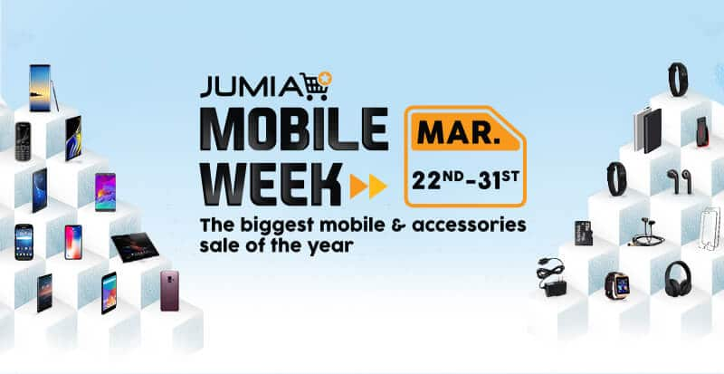 Jumia Mobile Week 2019: The Biggest Mobile Sale of the Year