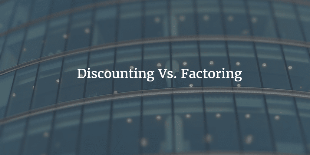 Difference between Invoice Factoring and Invoice Discounting