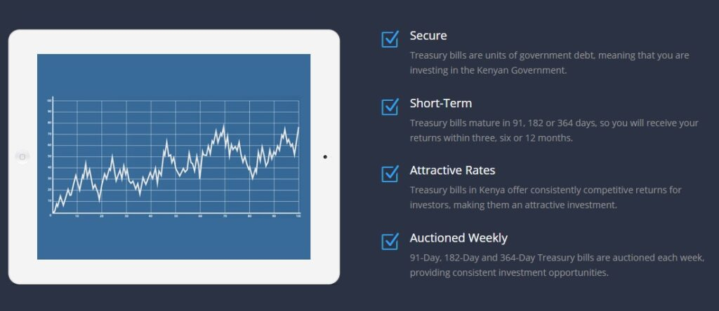 how to invest Treasury Bills in Kenya