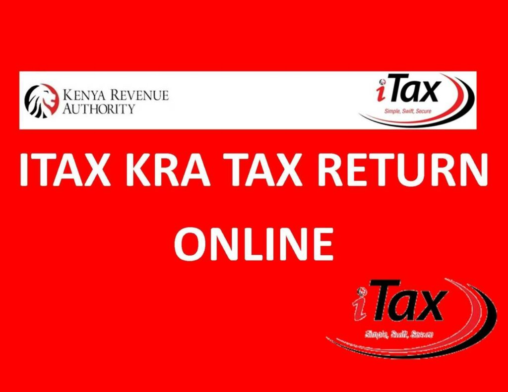 KRA tax returns online on iTax