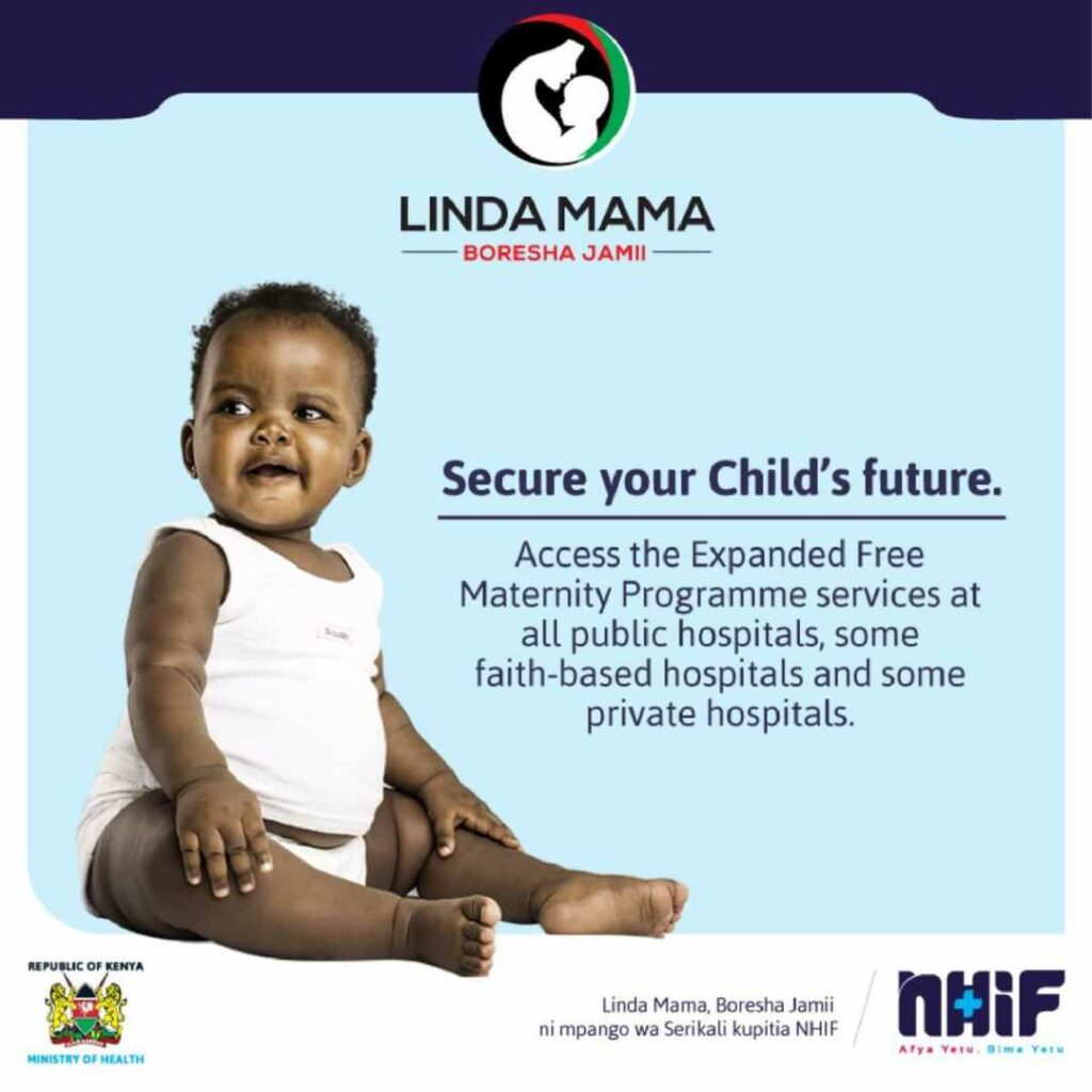 How to Register for the NHIF Linda Mama Cover