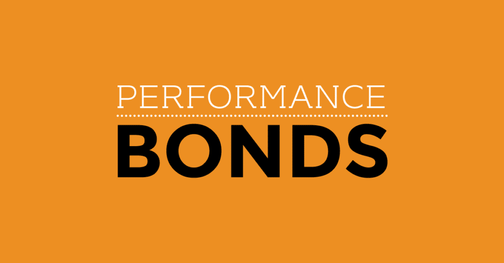 What you need to know about performance bonds