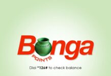 Safaricom Bonga points phones