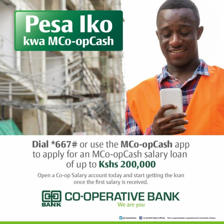 MCo-op Cash: How to Apply for Salary or Business Loans