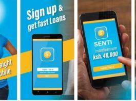 Senti loan app
