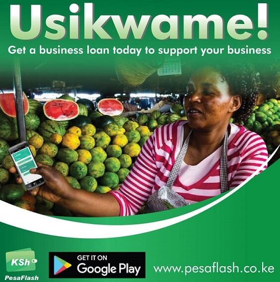 PesaFlash Loan App