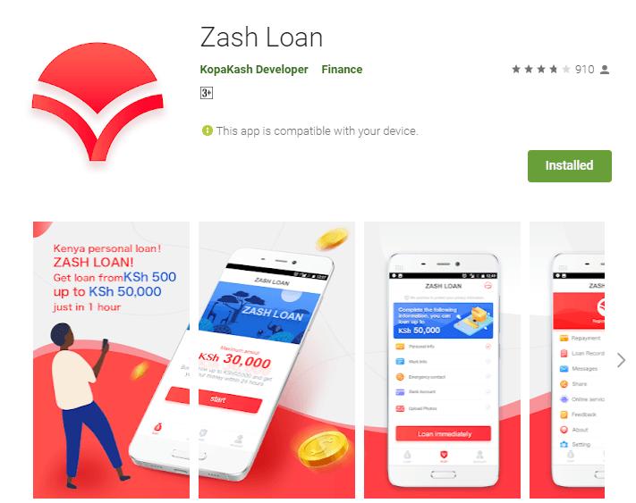 Zash Loan App Download – (2020 Update)