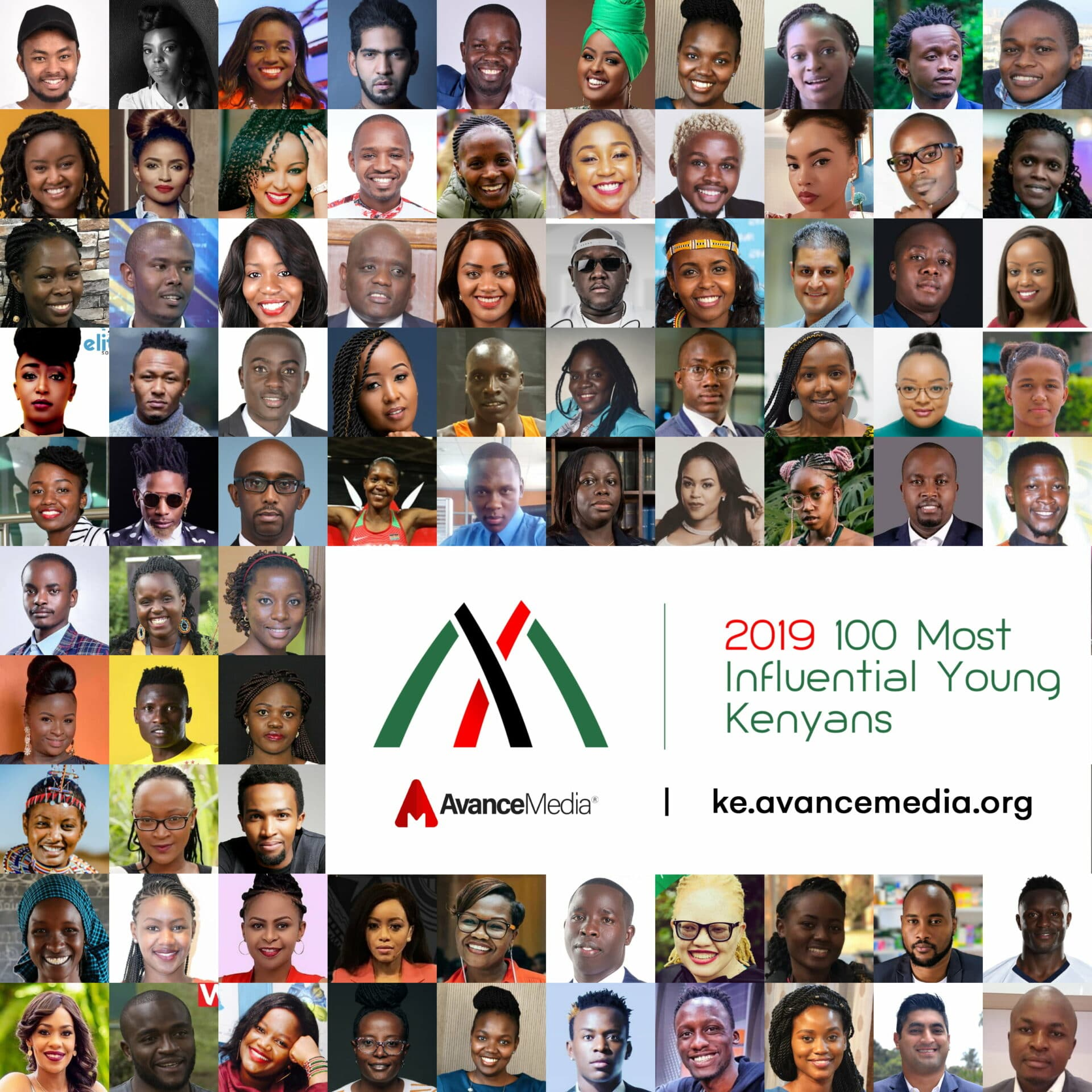 100 Most Influential Young Kenyans Finalists Announced