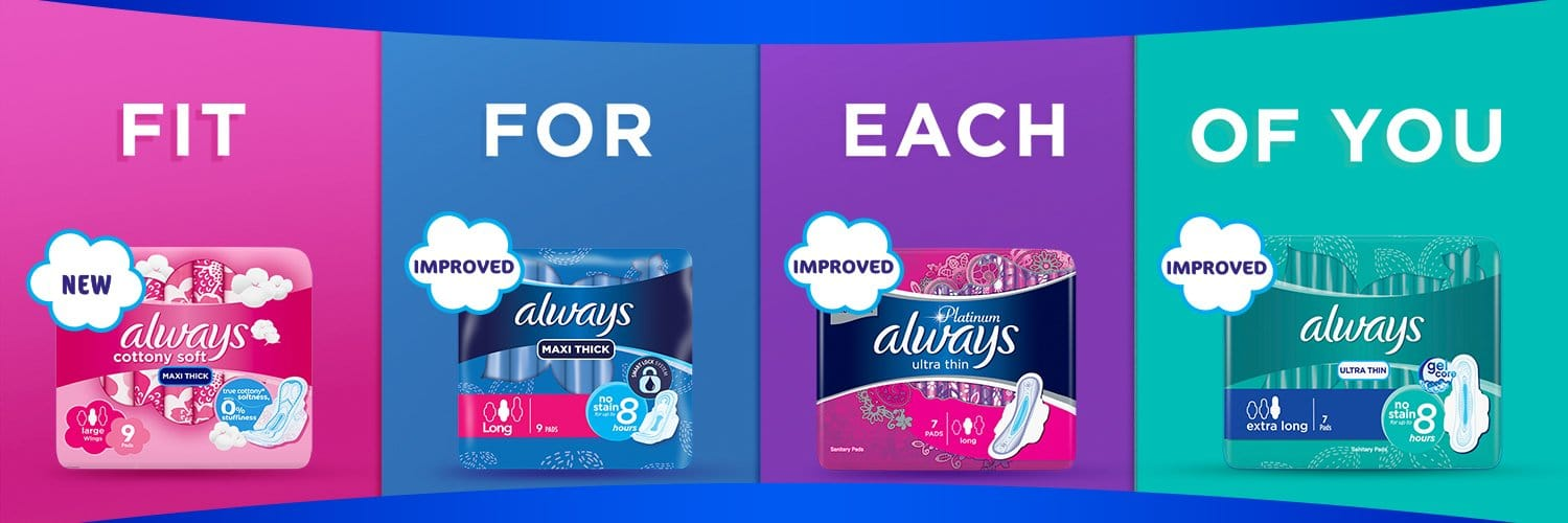 Always Kenya launches new sanitary towel