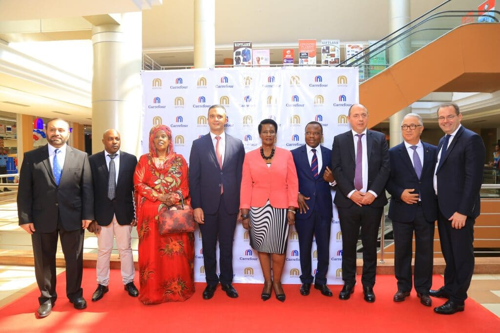 Carrefour opens store in Uganda Oasis Mall