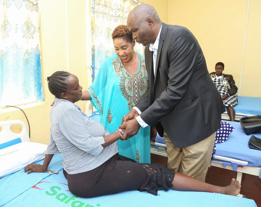 Safaricom Foundation Launches Maternal Health Programme In Baringo County